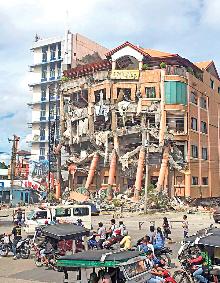 Pray for the earthquake victims in Mindanao, Philippines